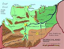 Borschland map
