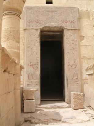 Chapel entrance, Luxor