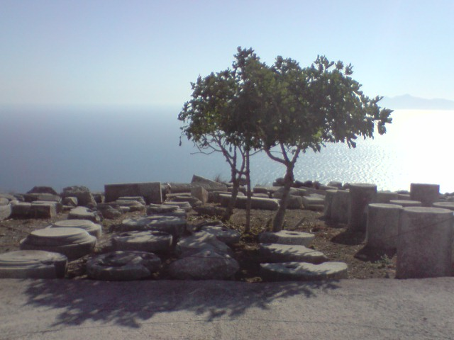 Speakers' area, Thira (Santorini)